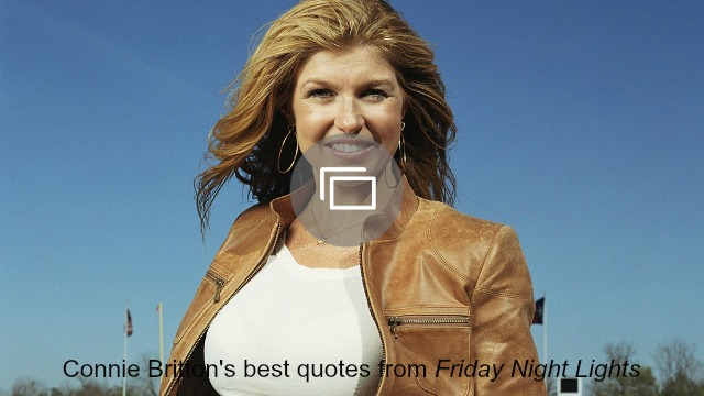 Connie Britton and I have very different ideas of what a vacation is