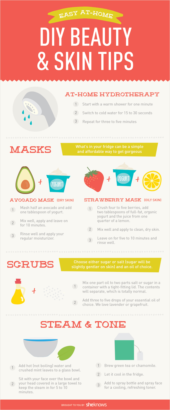 How to get better skin at home -- for less