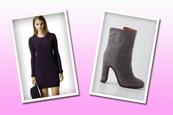 Boots and dresses for fall