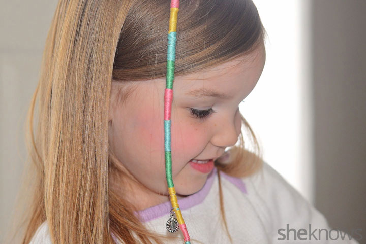 Learn To Make Your Own Hair Wraps For Summer