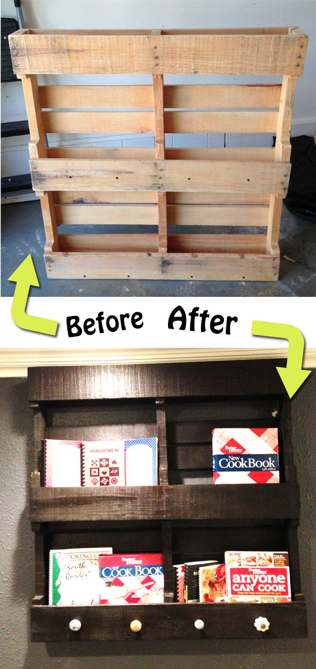 12 amazing ways to recycle wooden pallets for Creative ways to make a book for a project