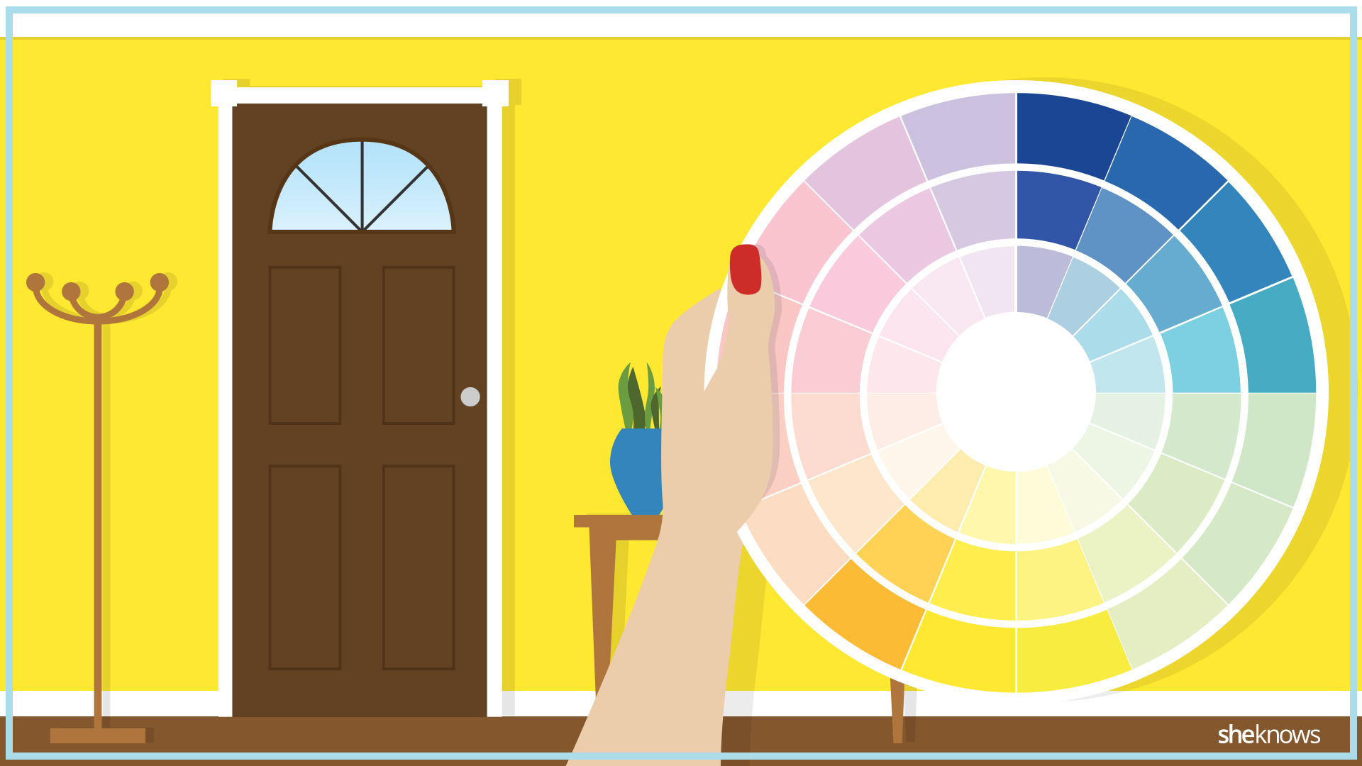 Color Wheel Hacks To Make Your Home More Inviting