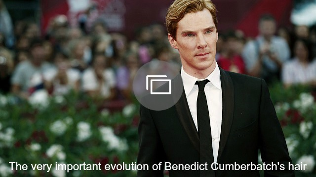 'benedict cumberbatch hair slideshow