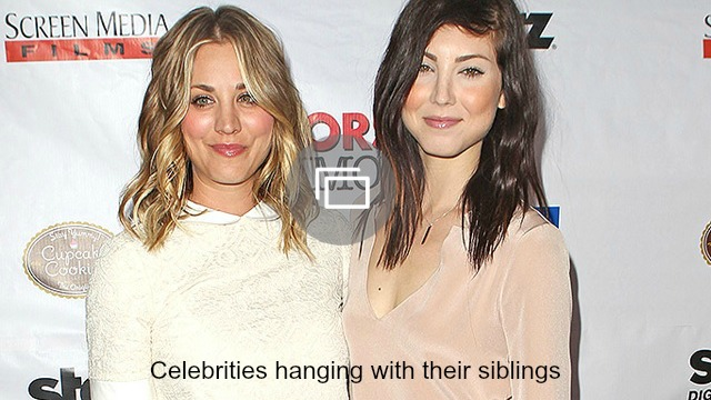 celebrity siblings slideshow