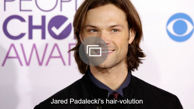 jared padalecki hair slideshow
