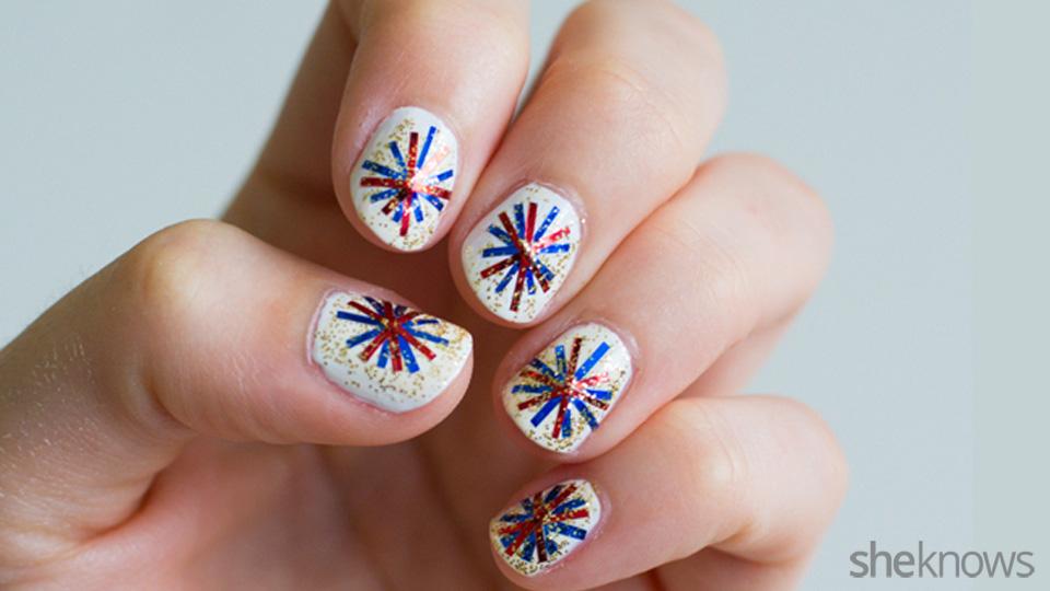 Nice July 4th Nail Designs Ensign - Nail Art Ideas - morihati.com