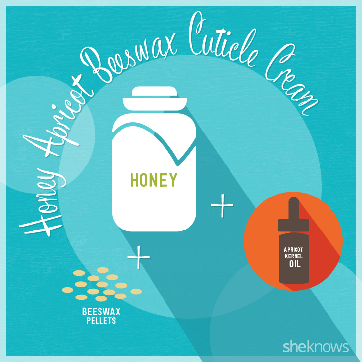 Honey Apricot Beeswax Cuticle Cream, from Spa Week Blog