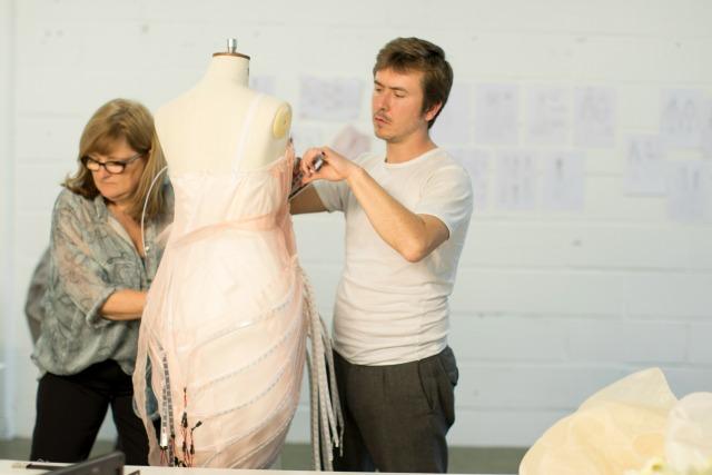 House of Fraser TV BAFTA led dress