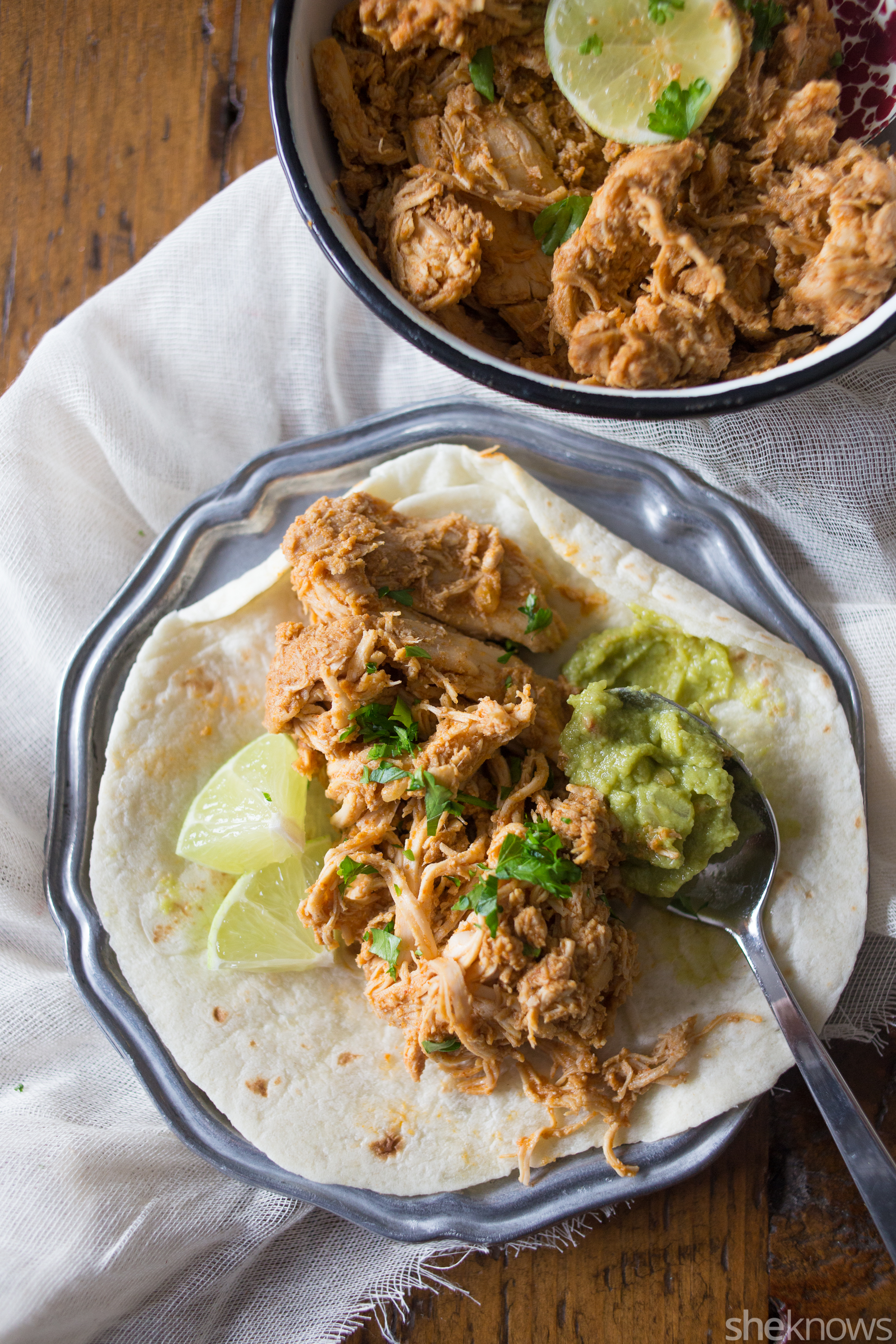 slow cooker nacho chicken slow cooker shredded chicken chicken ...