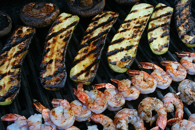 Grilled foods