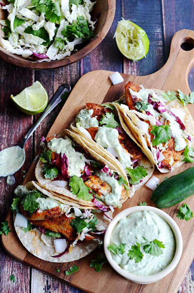 Taco tuesday 10 times looking at tacos was almost better for Fish taco dressing