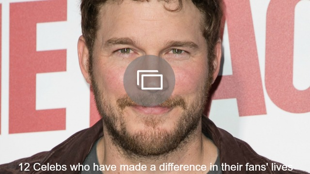 celebs made difference for fans slideshow