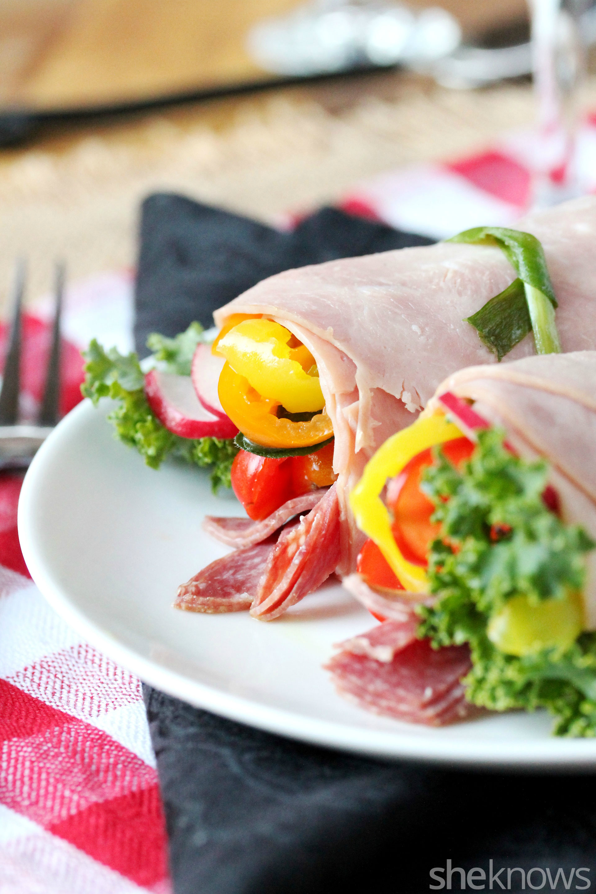 Paleo Italian Roll Up Sandwich moreover Beverages 11 additionally Diagonal Slices French Bread in addition Index in addition Sensations Ham. on hormel sliced deli ham