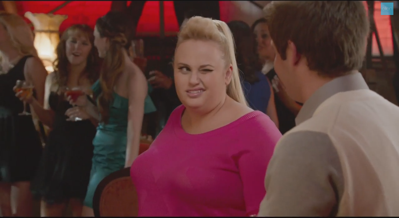 Rather remarkable, Fat amy pitch perfect join