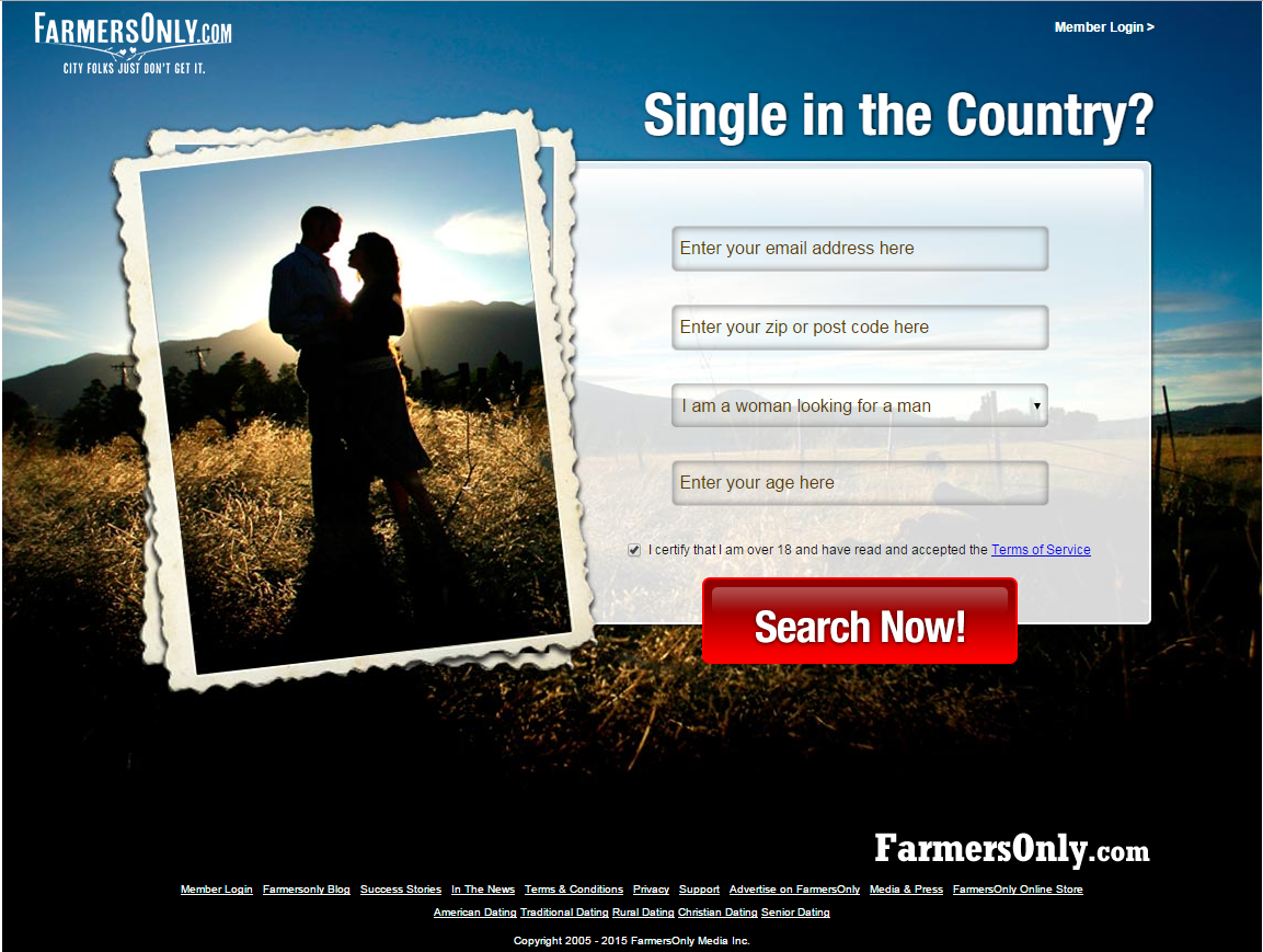 a dating site for farmers Christian mingle and farmers only not providing any matches for you john crist introduces christianfarmersonlycom, a new type of christian farming dating w.