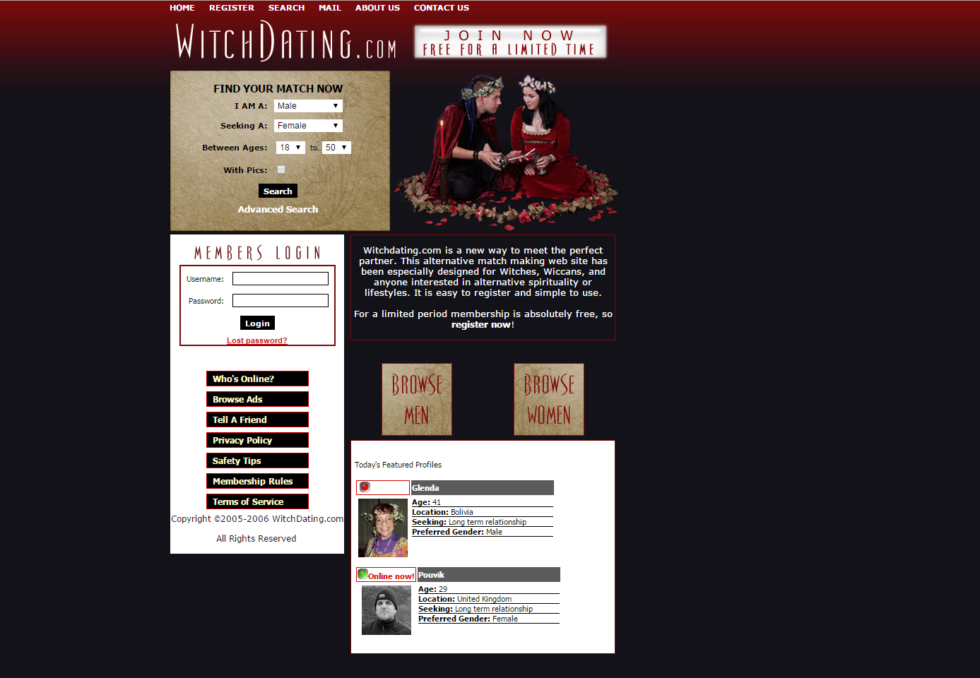 Wiccan Passions - 100 Free Dating & Social Networking for