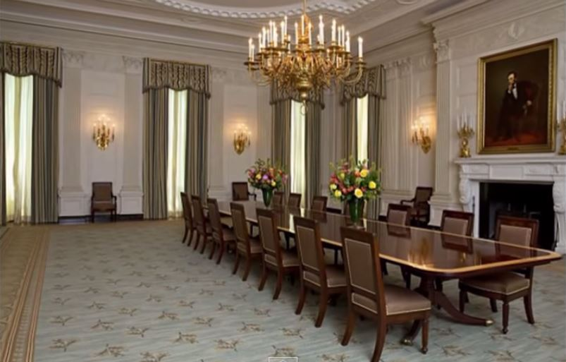 White house state dining