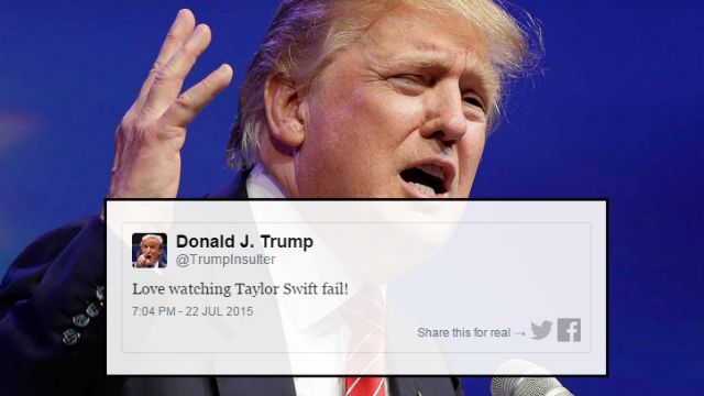 Donald Trump gets involved in latest celeb feuds with the most absurd ...