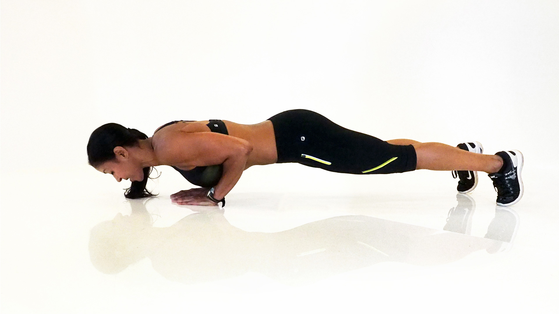 Push Hands up Push-up Position You May