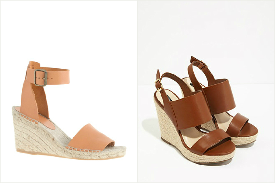 chic wedges
