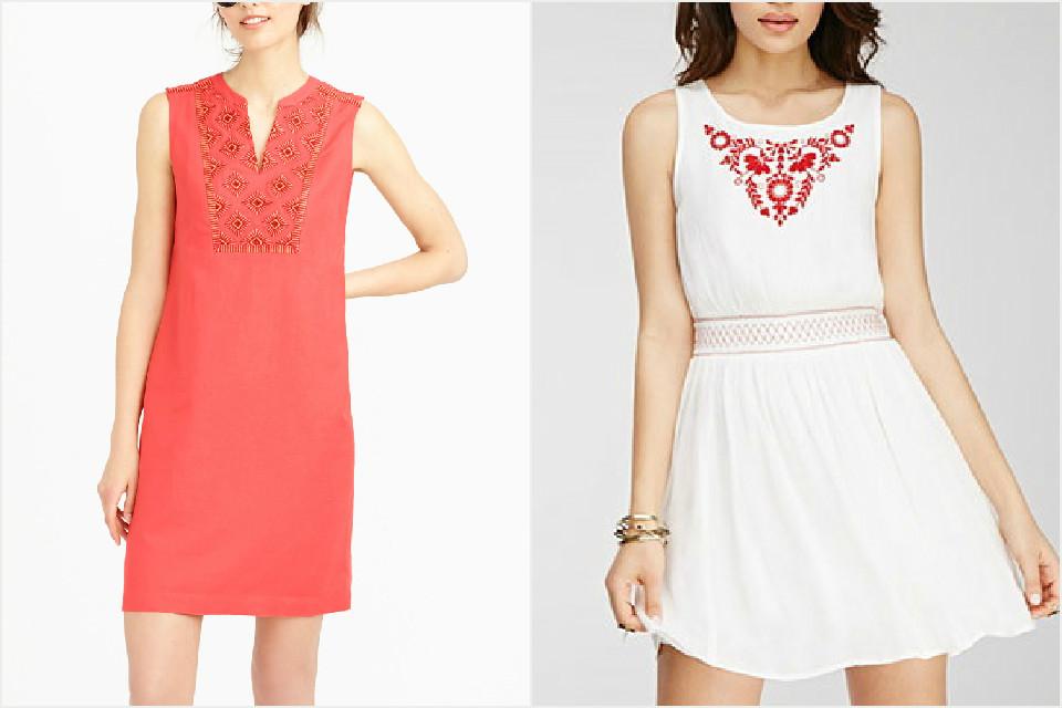 A pretty, summery dress