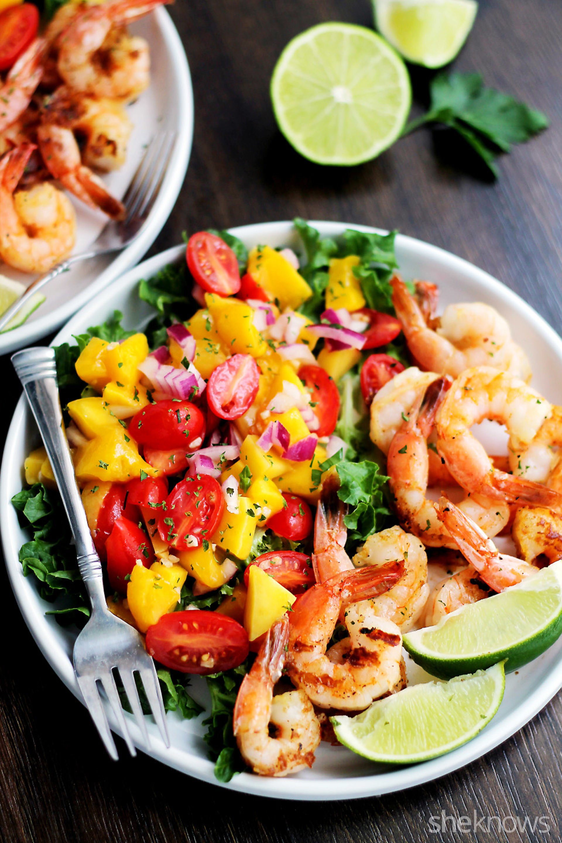Bright fresh flavors make shrimp and mango salad a go-to summer dish
