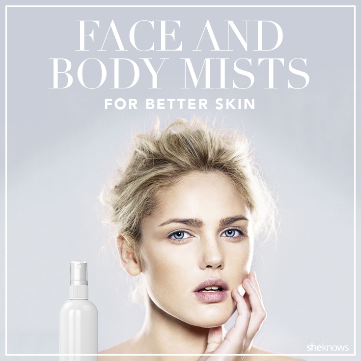 Face mists to better skin