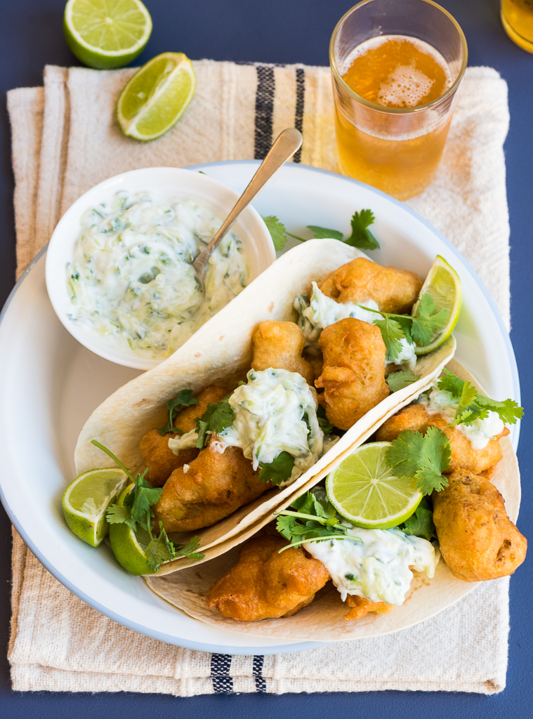 Beer Battered Fried Avocado Tacos Recipes — Dishmaps