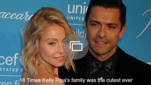 kelly ripa family slideshow'