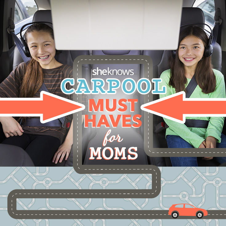 Car pool hacks for busy moms