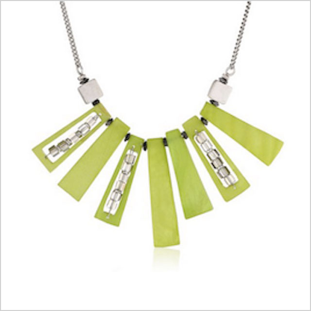"""Kenneth Cole New York """"Shell Brilliance"""" Shell Stick Necklace"""