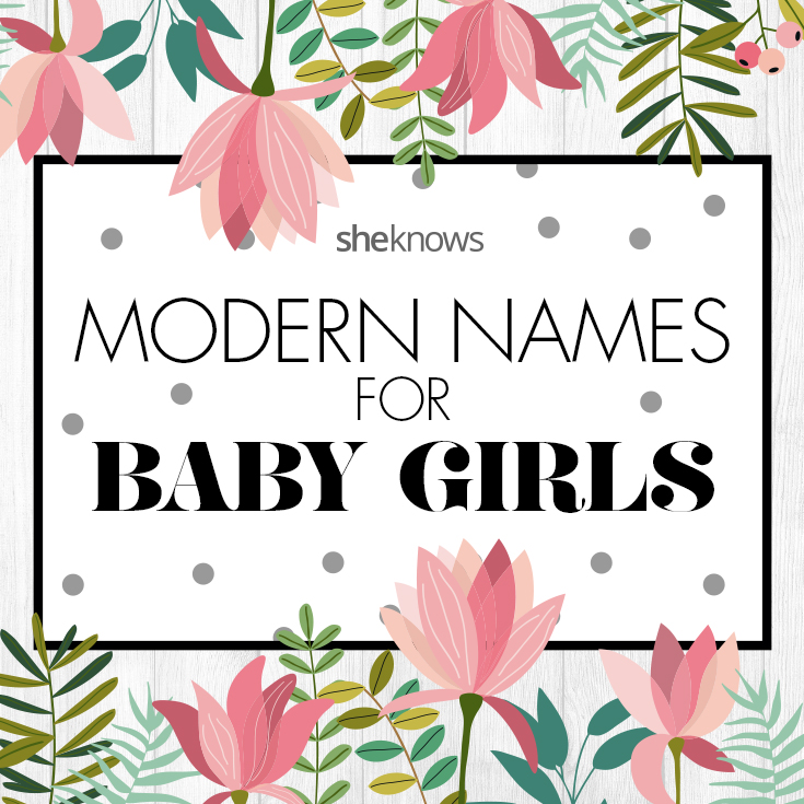 Unique and cool modern girl name ideas
