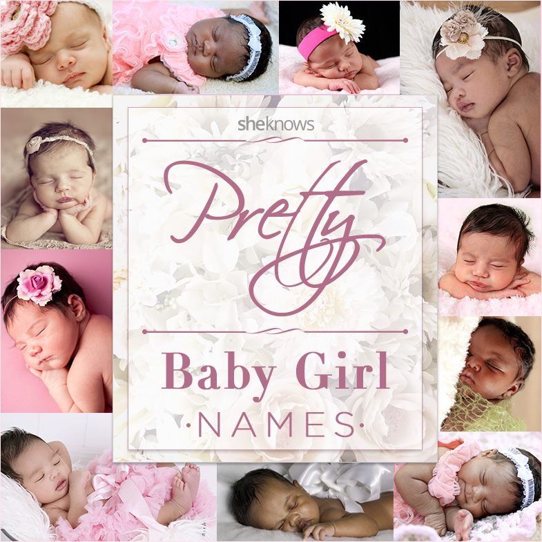 Fun and feminine baby names for a daughter