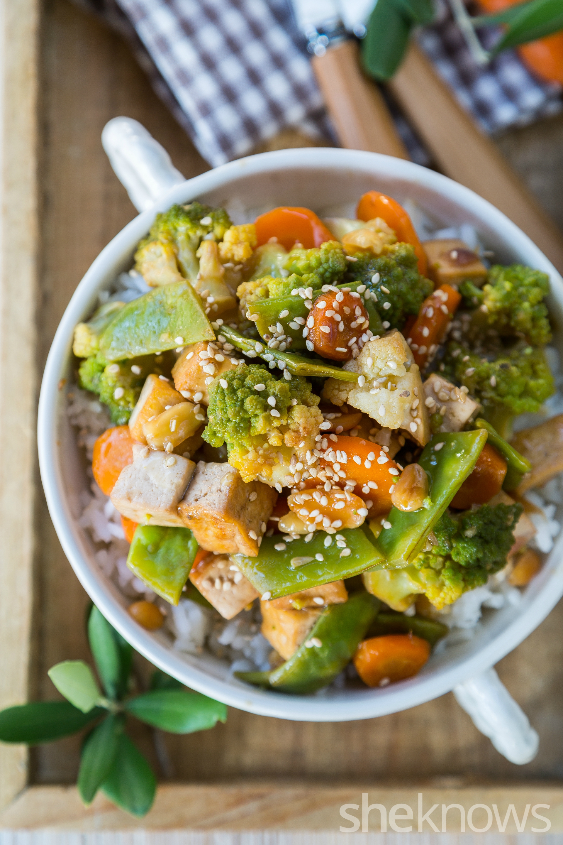30-Minute tofu and veggie stir-fry — better than takeout and almost ...