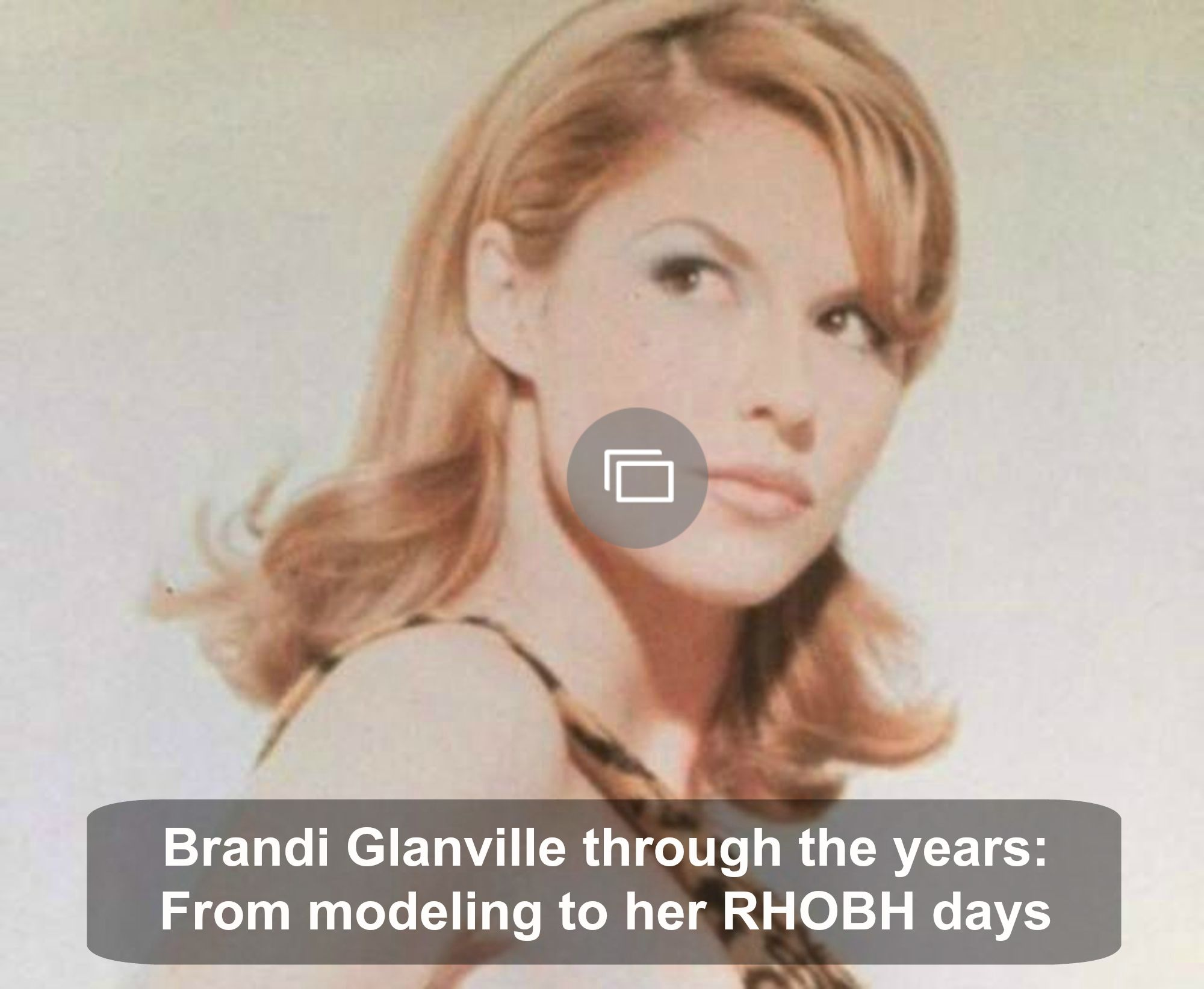 Oh boy, we really hope Brandi Glanville finds herself a man, because this could be good news for RHOBH