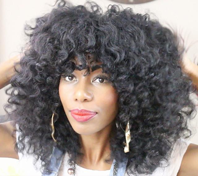 1970s Disco queen hair tutorial