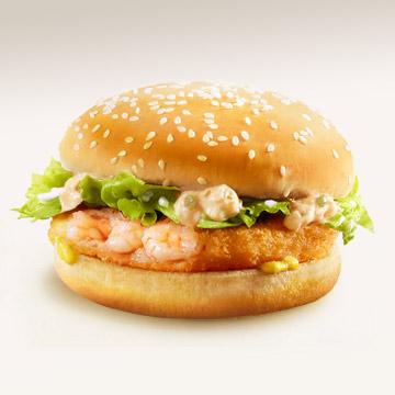 Mcdonald Fast Food Fish And Rice