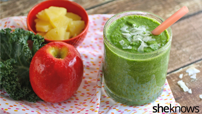 Healthy green drinks full of good-for-you ingredients are the best way to start your day