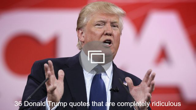 donald trump quotes slideshow