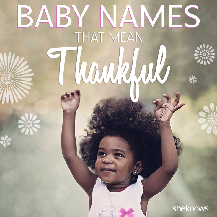 Gracious baby names for boys and girls