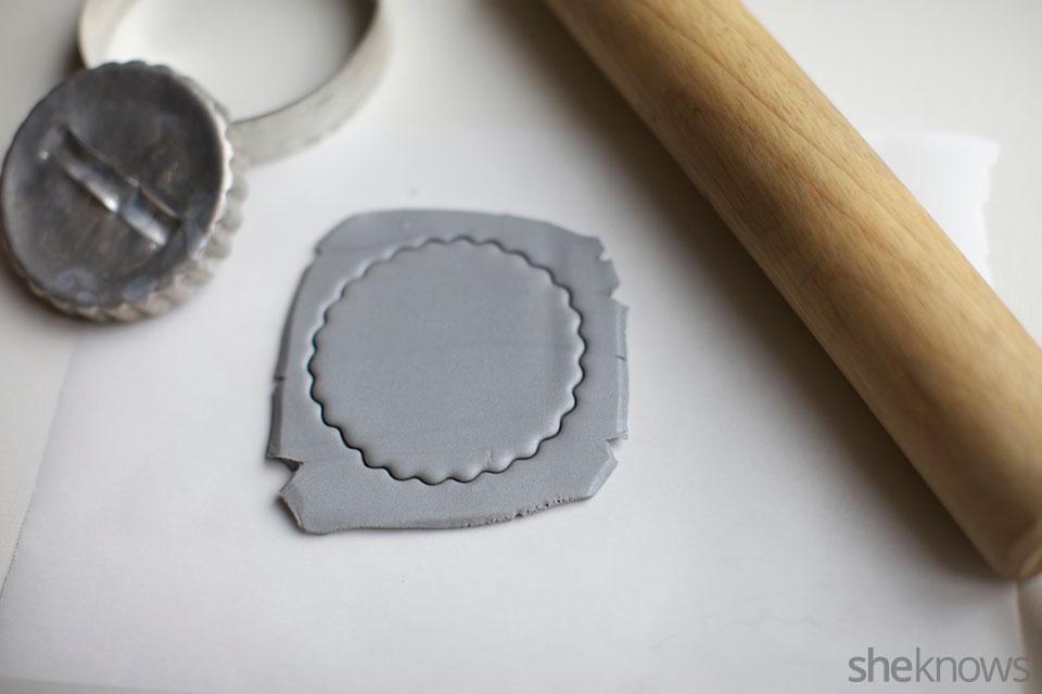 Mini DIY jewelry holders: Step 2
