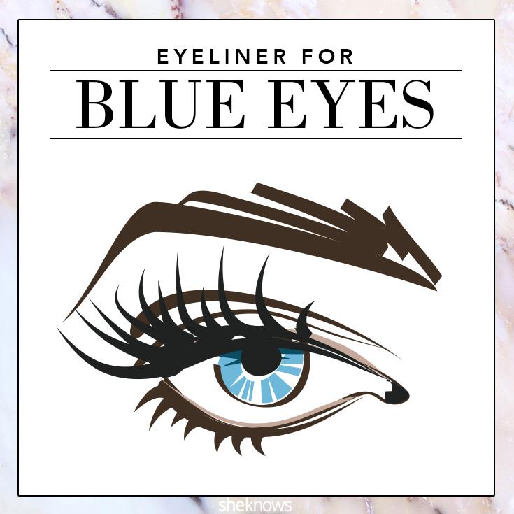 The best colored eyeliner for Blue eyes