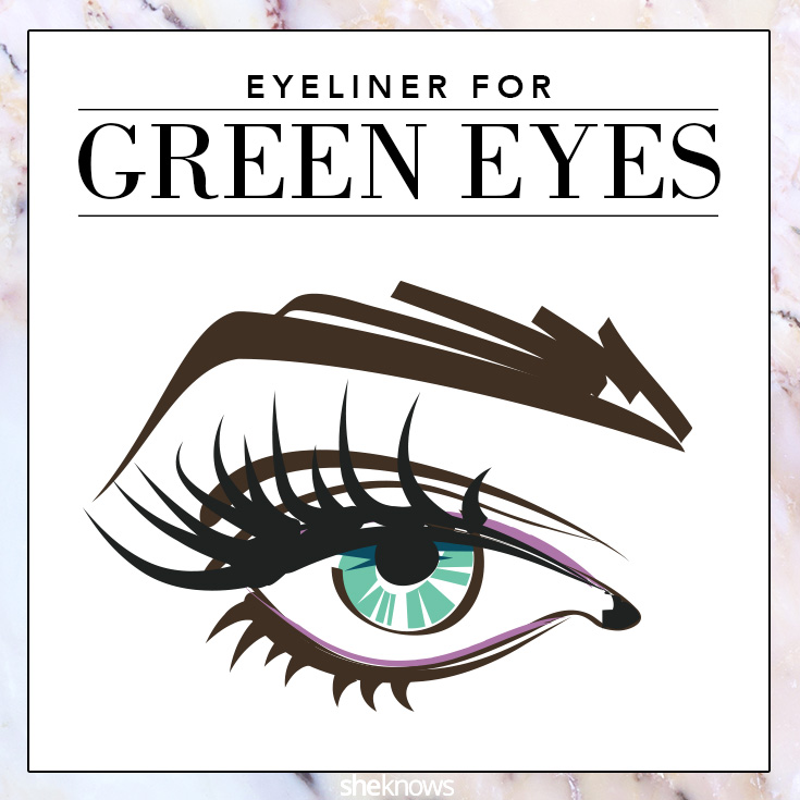 The best colored eyeliner for Green eyes