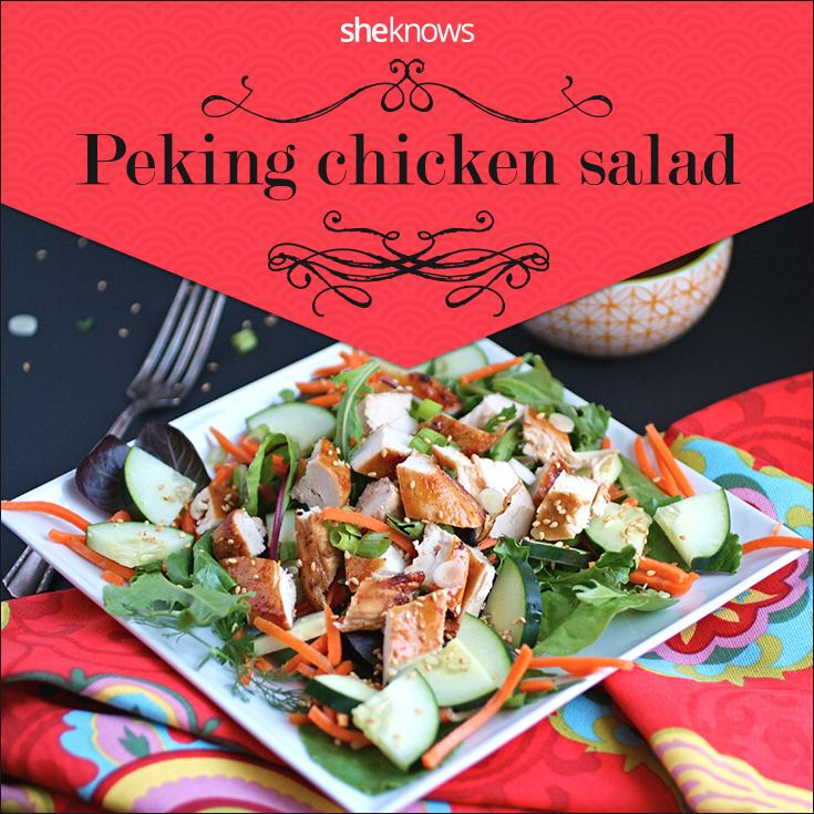Peking chicken salad puts a twist on a Chinese takeout favorite