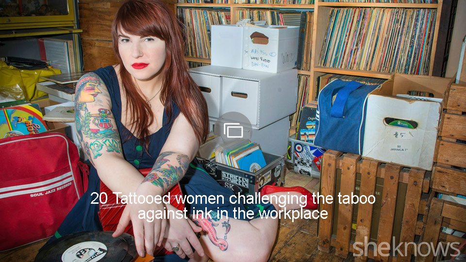 20 Tattooed women challenging the taboo against ink in the workplace