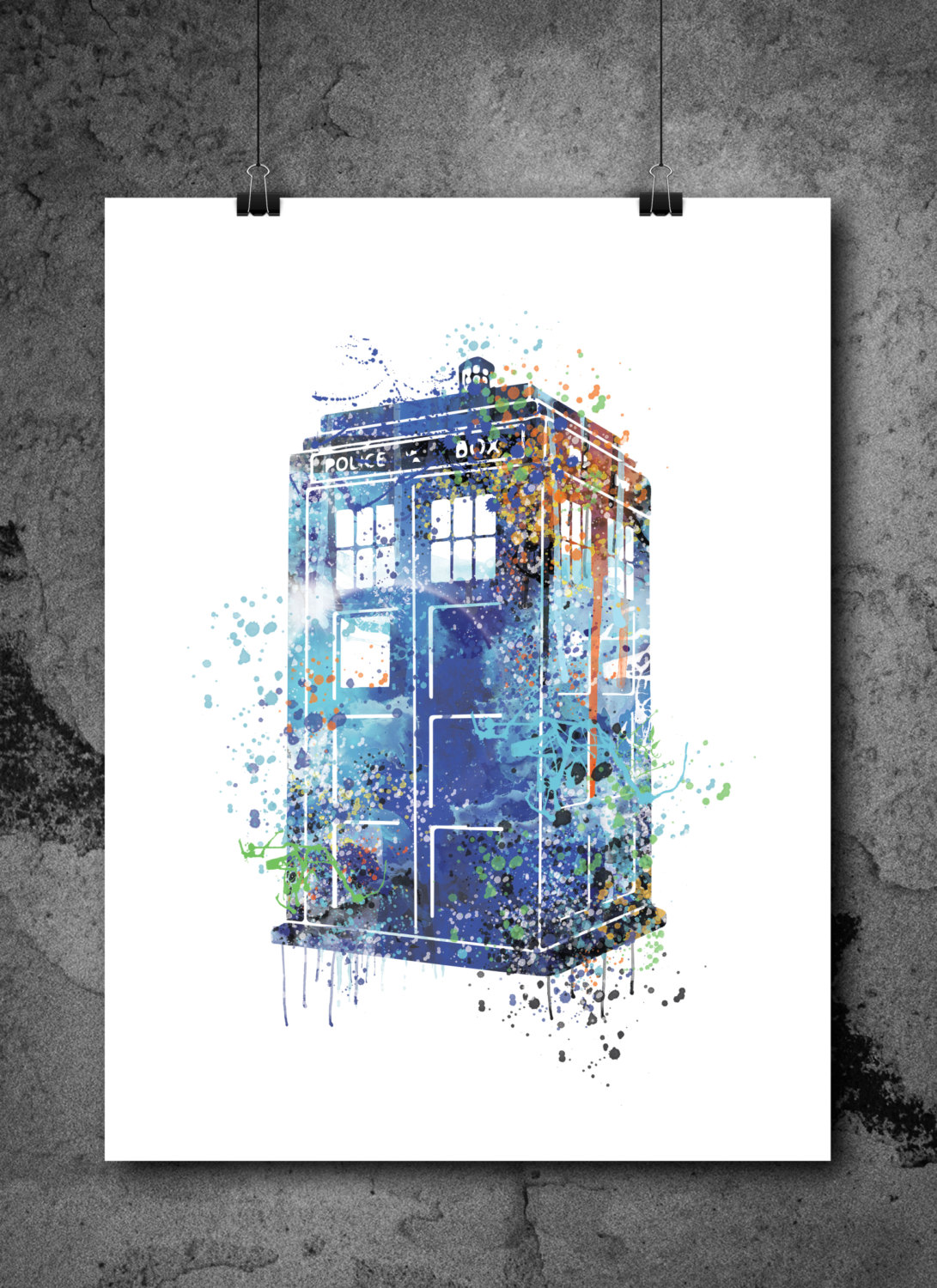 11 Tardis Blue Home Decor Ideas For Hardcore Who Fans