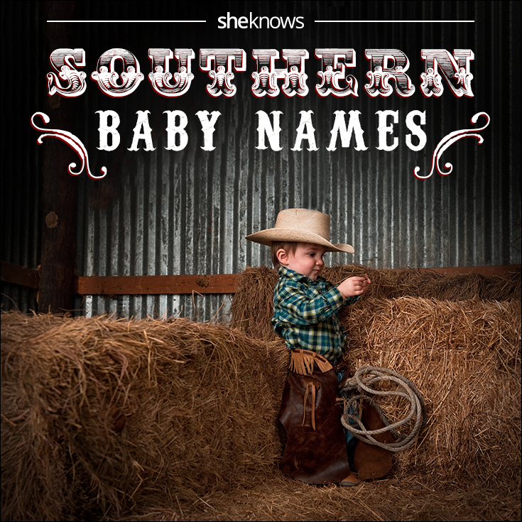 Southern names for boys and girls