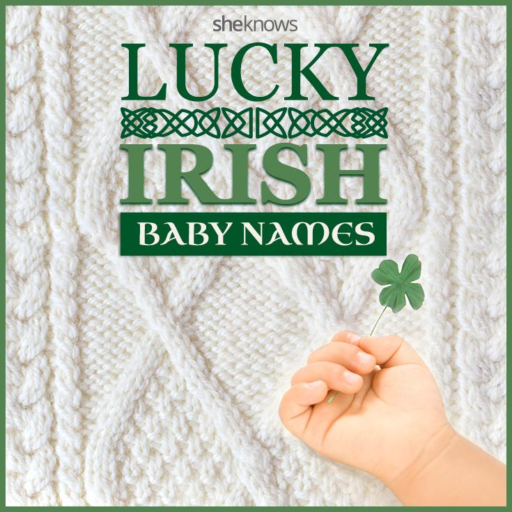 Irish baby girl and baby boy names