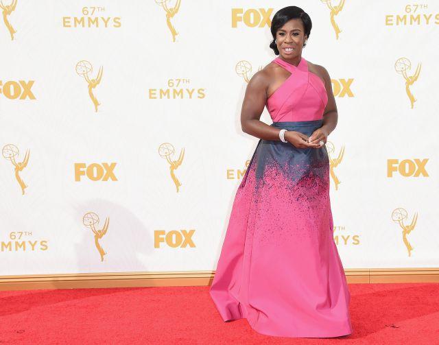 Uzo Aduba Emmys dress