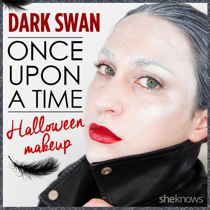 Dark Swan makeup
